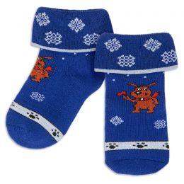 Носки махровые ясельные Собака