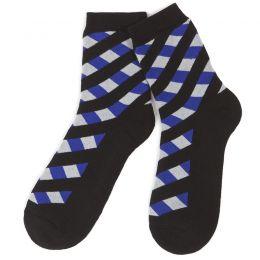 Носки махровые женские Геометрия