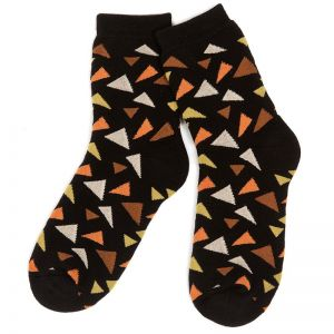 Носки махровые женские Мозайка