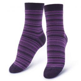 Носки махровые женские Полоса