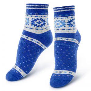 Носки махровые женские Скандинавский принт №2