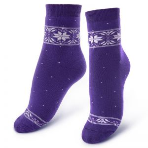 Носки махровые женские Скандинавский принт №5