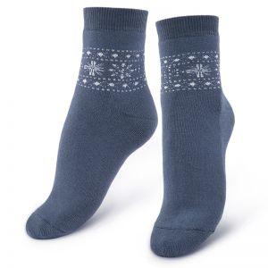 Носки махровые женские Снежинка