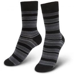 Носки мужские Полоска №2 серый