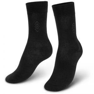 Носки мужские с ажурной вставкой №1 черный