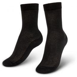 Носки мужские с ажурной вставкой №2 черный