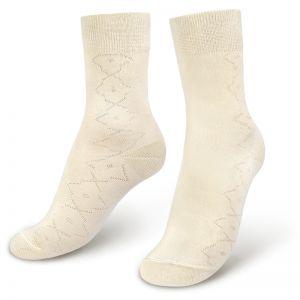 Носки мужские с ажурным рисунком №1