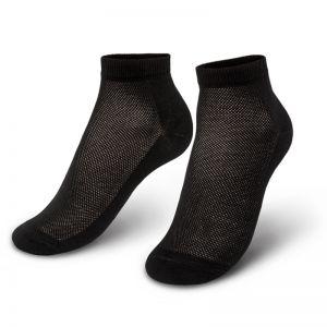 Носки мужские укороченные с ажурной вставкой №5