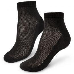 Носки мужские укороченные с ажурной вставкой №7