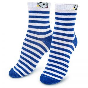 Носки подростковые Полоска синий