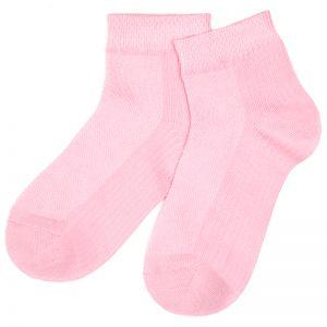 Носки подростковые короткие однотонные