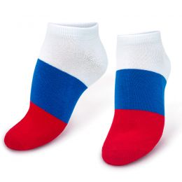 Носки подростковые укороченные Флаг