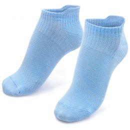 Носки подростковые укороченные однотонные