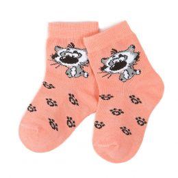 Носки ясельные Котик
