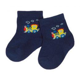 Носки ясельные Машинки