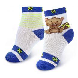 Носки ясельные Мишка