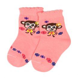 Носки ясельные Обезьянки