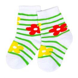 Носки ясельные Цветочек