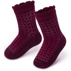 Носки ясельные ажурные для девочки