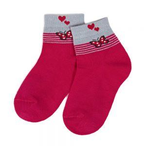 Носки ясельные для девочки Бабочка