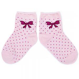 Носки ясельные для девочки Бантик