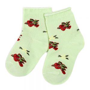 Носки ясельные для девочки Клубничка