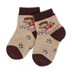 Носки ясельные для мальчика Футбол