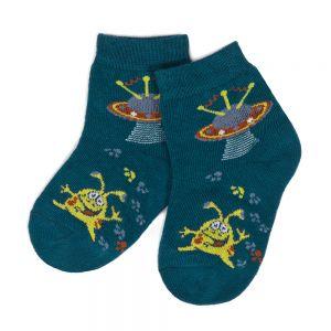 Носки ясельные для мальчика НЛО