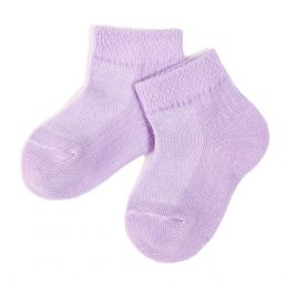 Носки ясельные короткие однотонные