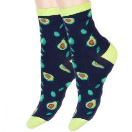 Носки женские Авокадо