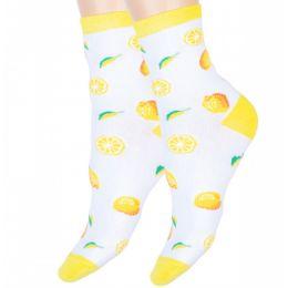 Носки женские Лимончик