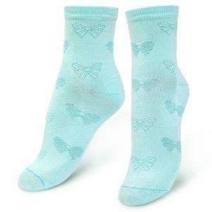 Носки женские ажурные Бантики