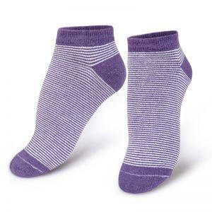 Носки женские коротки Полосатики №1