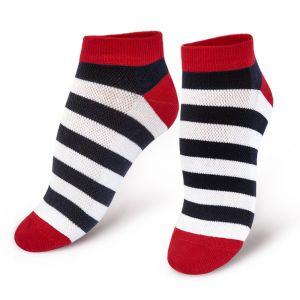 Носки женские короткие Полосатик