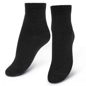 Носки женские укороченные №1 черные