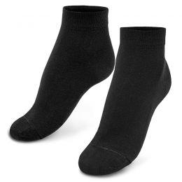 Носки женские укороченные черные