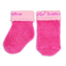 Носочки махровые для новорожденного девочка