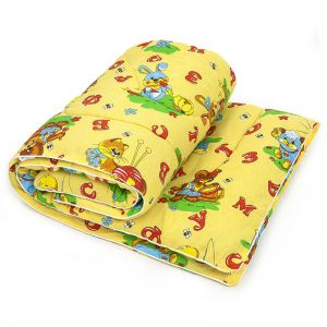 Одеяло детское Овечья шерсть/бязь