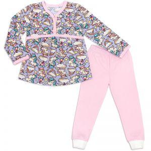 Пижама для девочки Единорожка