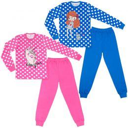 Пижама для девочки Горошек №2