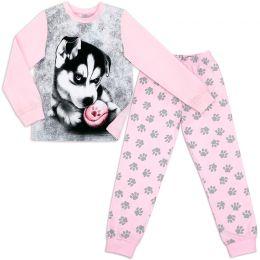 Пижама для девочки Хаски