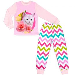 Пижама для девочки Котенок