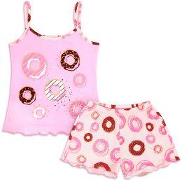 Пижама для девочки Пончики