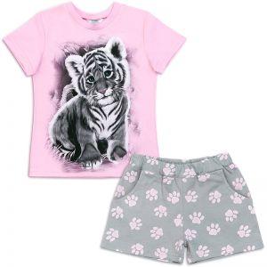 Пижама для девочки Тигра