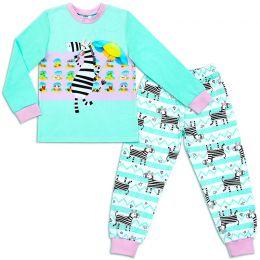 Пижама для девочки Зебра