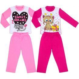 Пижама для девочки ассорти №1