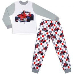 Пижама для мальчика Гонки