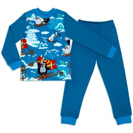 Пижама для мальчика Зима