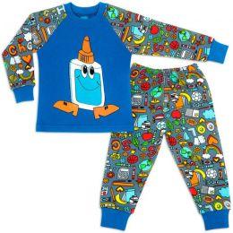 Пижама для мальчика интерлок №1