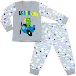 Пижама для мальчика интерлок №15